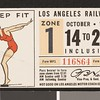 Los Angeles Railway weekly pass, 1934-10-14