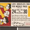 Los Angeles Railway weekly pass, 1934-06-24