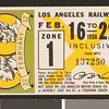 Los Angeles Railway weekly pass, 1936-02-16
