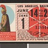 Los Angeles Railway weekly pass, 1936-06-14