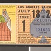 Los Angeles Railway weekly pass, 1937-07-18