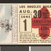 Los Angeles Railway weekly pass, 1936-08-30
