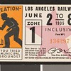 Los Angeles Railway weekly pass, 1935-06-02