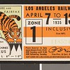 Los Angeles Railway weekly pass, 1935-04-07