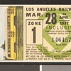 Los Angeles Railway weekly pass, 1937-03-28