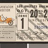 Los Angeles Railway weekly pass, 1935-10-20
