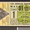 Los Angeles Railway weekly pass, 1936-05-31