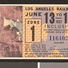 Los Angeles Railway weekly pass, 1937-06-13