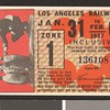 Los Angeles Railway weekly pass, 1937-01-31