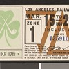 Los Angeles Railway weekly pass, 1936-03-15