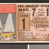 Los Angeles Railway weekly pass, 1937-03-07