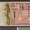 Los Angeles Railway weekly pass, 1936-11-15