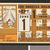 Los Angeles Railway weekly pass, 1935-09-01