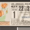 Los Angeles Railway weekly pass, 1936-03-22