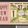 Los Angeles Railway weekly pass, 1936-12-27