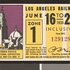 Los Angeles Railway weekly pass, 1935-06-16