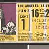 Los Angeles Railway weekly pass, 1935-06-16
