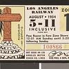 Los Angeles Railway weekly pass, 1934-08-05