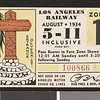 Los Angeles Railway weekly pass, 1934-08-05