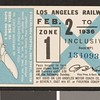Los Angeles Railway weekly pass, 1936-02-02