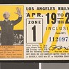 Los Angeles Railway weekly pass, 1936-04-19
