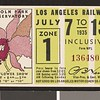 Los Angeles Railway weekly pass, 1935-07-07