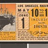 Los Angeles Railway weekly pass, 1936-05-10