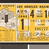 Los Angeles Railway weekly pass, 1935-08-04