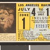 Los Angeles Railway weekly pass, 1937-07-04