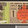 Los Angeles Railway weekly pass, 1937-07-25