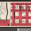 Los Angeles Railway weekly pass, 1935-07-21