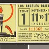 Los Angeles Railway weekly pass, 1934-11-11