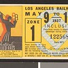 Los Angeles Railway weekly pass, 1937-05-09