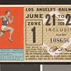 Los Angeles Railway weekly pass, 1936-06-21