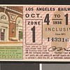 Los Angeles Railway weekly pass, 1936-10-04