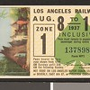Los Angeles Railway weekly pass, 1937-08-08