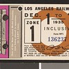 Los Angeles Railway weekly pass, 1935-12-01