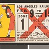 Los Angeles Railway weekly pass, 1936-02-09