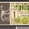 Los Angeles Railway weekly pass, 1937-02-21