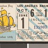Los Angeles Railway weekly pass, 1935-10-06