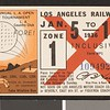 Los Angeles Railway weekly pass, 1936-01-05