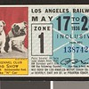 Los Angeles Railway weekly pass, 1936-05-17