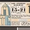 Los Angeles Railway weekly pass, 1934-07-15