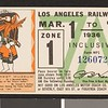 Los Angeles Railway weekly pass, 1936-03-01