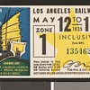 Los Angeles Railway weekly pass, 1935-05-12