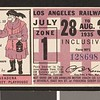 Los Angeles Railway weekly pass, 1935-07-28