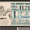 Los Angeles Railway weekly pass, 1935-08-11