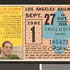 Los Angeles Railway weekly pass, 1936-09-27