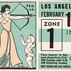 Los Angeles Railway weekly pass, 1935-02-10