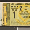 Los Angeles Railway weekly pass, 1937-05-02